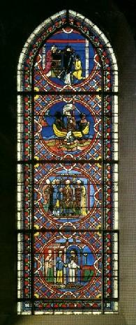Le vitrail Saint-Nicolas